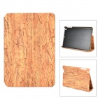 Wood Grain Protective PU Leather Case for Ipad MINI