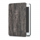 Wood Grain Protective PU Leather Case for Ipad MINI - Carbonarius