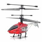 8002G Rechargeable 2.4GHz 4-CH R/C Alloy Helicopter w/ Gyroscope - Red + Silver