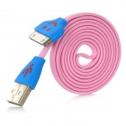 USB Charging / Data Cable for iPhone / iPad / iPod- Pink (100cm)