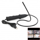 SB-7m Waterproof USB 2.0 CMOS 6-LED Snake Camera Endoscope w/ Reflective Lens - Black (247cm)