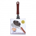 Smiling Face Fried Eggs Non-Stick Pan - Black