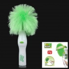 Go Duster Motorized Duster for Home Office - Green (4 x AA)