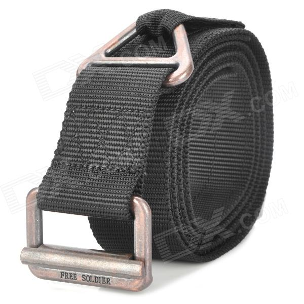 Free Soldier Outdoor Tactical Rescue Waist Belt - Black (Size L / 127cm)