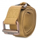 Free Solider Outdoor Tactical Rescue Waist Belt - Khaki (Size L / 127cm)