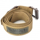 Free Soldier Outdoor Tactical Rescue Waist Belt - Khaki (Size L / 135cm)