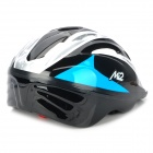 M-CRO MH09 Outdoor Skating Safety Helmet w/ Backlight - Blue + Black + Grey