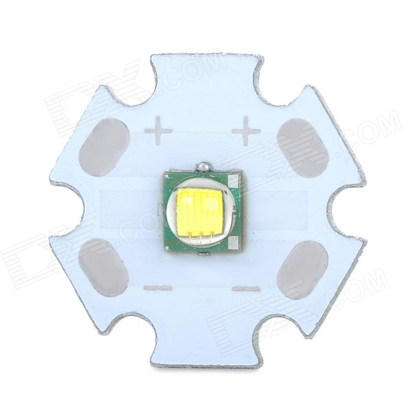 10W 910lm 6300K LED Emitter Module - White (2.1cm-Diameter) led flashlight cree t6 super bright high power multifunction led torch hunting camping rechargeable 10w 1000 lumens