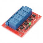 Keyes 4-CH 12V Power Relay Module - Red + Blue