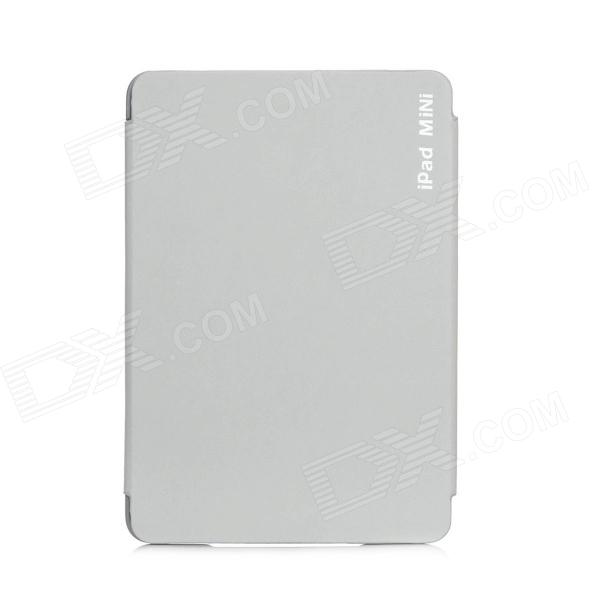 "7.9"" Protective PU Leather Cover for iPad Mini - Grey"