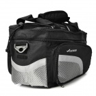 ACACIA 24237 Bicycle Rear Back Luggage Carrier Bag - Black + Grey (15 L)