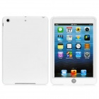 Protective Soft Silicone Case for iPad Mini - White