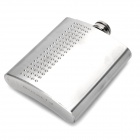 Portable Stainless Steel Liquor Flask - Silver (200ml)