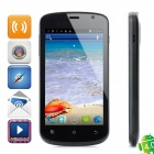 "ICUBOT A600 Android 4.0 WCDMA Smartphone w/ 4.3"" Capacitive Screen, Dual-SIM, Wi-Fi and GPS - Black"