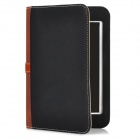 Briefcase Style Protective PU Leather Stand Case w/ Dormancy Function for iPad Mini - Black