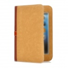 Briefcase Style Protective PU Leather Stand Case w/ Dormancy Function for iPad Mini - Brown