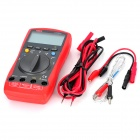 "UNI-T UT60C 2.8"" LCD Multipurpose Digital Multimeter - Red + Deep Grey (1 x 9V Battery)"