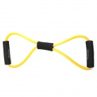 4-in-1 Pilates Fitness Exercise Resistance Band Set - Black + Orange + Red + Yellow