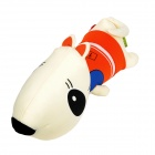 SY009 Car Decorate Bamboo Charcoal Dog Toy Odor Absorber - Orange + Milky White
