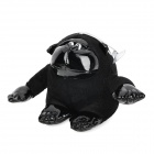 KSQ001 Car Decorate Bamboo Charcoal Orangutan Toy Odor Absorber - Black