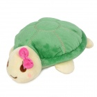 KSQ006 Car Decorate Bamboo Charcoal Turtle Toy Odor Absorber - Green + Milky White