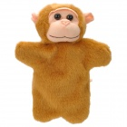 Cute Monkey Plush Doll Finger Toy - Brown