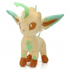Cute Leafeon Plush Doll Toy - Light Green + Light Yellow