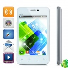 "FeiYang ING F220 Android 4.1 GSM Bar Phone w/ 4.0"" Capacitive Screen, Dual-Band and Wi-Fi - White"