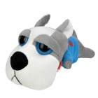 Car Decorate Bamboo Charcoal Dog Toy Odor Absorber - Blue + Grey + White