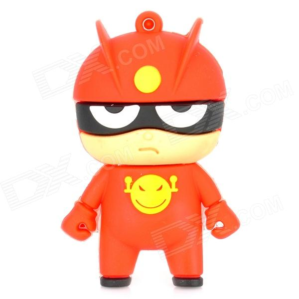 Cartoon USB 2.0 Flash Drive - Red + Black (8GB) usb flash drive