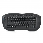A330b 2.4GHz Wireless 81-Key Keyboard w/ Mouse Touch Pad + Rolling - Black (2 x AA)