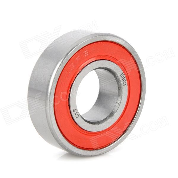 CYT 6203 Sealed Ball Bearing for Motorcycle - Red + Silver