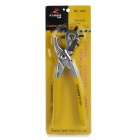 RDEER RT-1023 2 / 2.5 / 3 / 3.5 / 4 / 4.5mm Manganese Steel Leather Hole Punch - Yellow + Silver