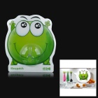 iEasypatch Frog Style Damage-free Silicone + PC Gadgets Hooks - Green
