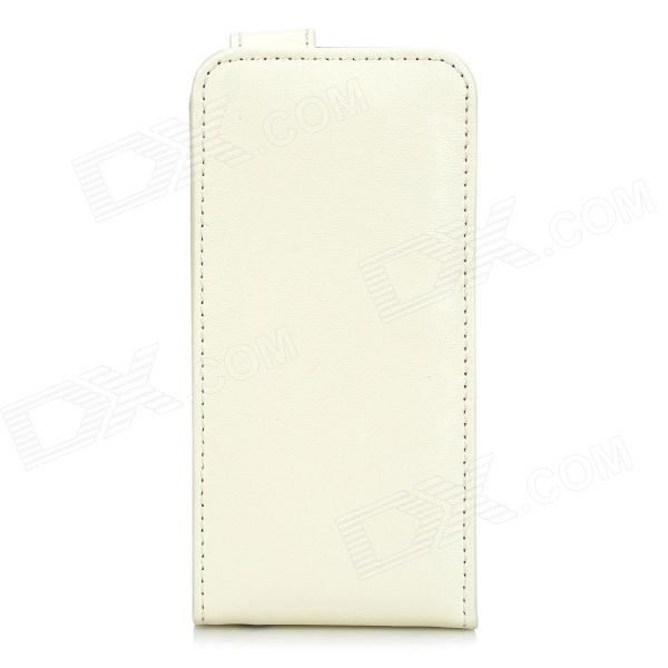 Genuine Leather Stylish Protective Case for Iphone 5 - Beige 5300 0100 redington counterscarrying case beige