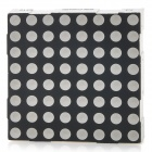 8 x 8 5mm Red Light Display de matriz de puntos LED Module - Negro + Blanco (60 x 60 mm / 24-Pin)