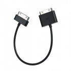 30-Pin Male to Male Data Cable for iPad / iPhone 4S / 4 (Length 20cm)