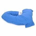 2343 Man's Arm Style PP Cotton Cushion Pillow - Blue