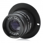 Funny SLR Magic 26mm f1.4 Special Effect Toy Lens - Black