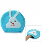 MPK5-L Cute Cartoon Pattern USB 2.0 Plush Hand Warmer Mouse Pad Mat - Blue + White (120cm-Cable)