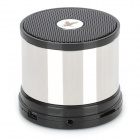 A1023 Rechargeable 3W Bluetooth V2.1 Handsfree Stereo Speaker MP3 Player w/ TF Slot - Silver