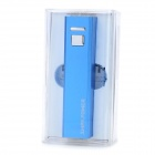 SWPKPOWER SW-A22617 Rechargeable 2600mAh Emergency Mobile Power Charger - Blue