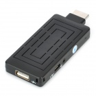 Android 4.0 All Winner A10S Smart TV Dongle Mini PC w/ Wi-Fi / Micro SD / HDMI / 4GB ROM - Black
