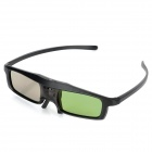 DLP023 Universal USB Rechargeable 3D Active Shutter Glasses for DLP Projectors - Black