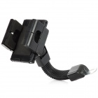 Universal Motorcycle Mount Holder for Iphone 4S / Mobile Phone / GPS - Black