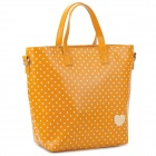 BANI RABBIT 121W03004Q20 Lady's Polka Dot Pattern PU Shoulder / Hand / Aslant Bag - Yellow
