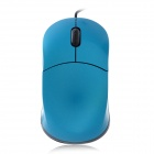 LZ-A8 USB Wired Optical 1200dpi Mouse - Blue + Black