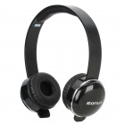 SONUN SN-T2 Stylish Headphone Headset w/ Microphone for PC - Black + Silver