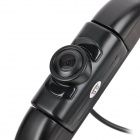 2.4GHz Waterproof Wireless Car Rearview Camera w/ 5-LED IR Night Version - Black (DC 12V)