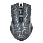 FC-5150 USB Wired 800 / 1600 / 2400 / 3200dpi Optical Gaming Mouse - Black